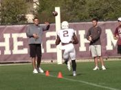 AYTV: Sideline View, A&M Spring Training Pract. 9