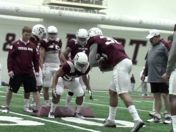 AYTV: Sideline View, Texas A&M Spring Training 3.5
