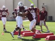 AYTV: Sideline View, A&M Spring Training Pract. 8