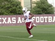 AYTV: Sideline View, A&M Spring Training Pract. 14