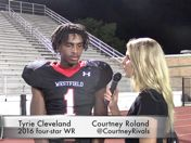 AYTV: Tyrie Cleveland, A&M is where his heart is