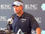Fedora speaks as Tar Heels open camp