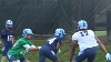 Larry Fedora Checks Out His Team During Fall Camp