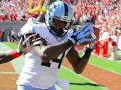 Williams to Davis: Touchdown Tar Heels
