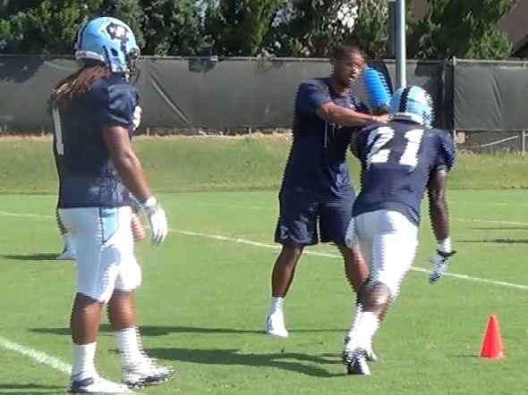 Aug. 12 Practice Highlights