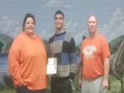 Surratt named 2014 Solomon Award Winner