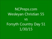 HP Wesleyan Christian vs Forsyth Country Day