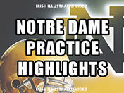 Irish open spring practice