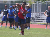 Modster throwing at Edison 7v7