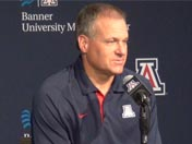 Press conference: Rich Rodriguez (Aug. 28)