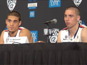 Players after Utah win (Pac-12 tourney)