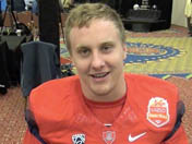 Fiesta Bowl media day: Parker Zellers