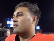 Anu Solomon after spring game