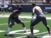Jalen Hall and Taariq Johnson at B2G