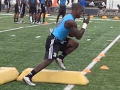 JJ Taylor at B2G Elite Camp