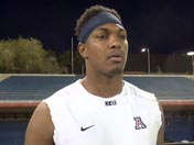 Cayleb Jones talks bowl game