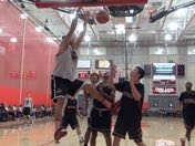 MJ Cage at Mater Dei summer league