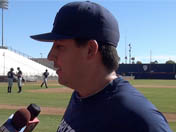 Matt Siegel talks fall practice, Lopez