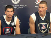 Elliott Pitts and Kaleb Tarczewski on Gonzaga