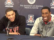 Rondae Hollis-Jefferson & Brandon Ashley (Feb. 24)