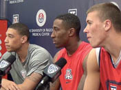 UA players discuss returning in 2014-15