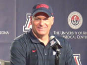 Rich Rodriguez after Territorial Cup win