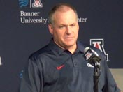 Rich Rodriguez talks injuries (Sept. 28)