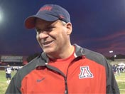 Rich Rodriguez after practice (Dec. 9)