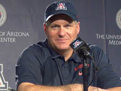Rich Rodriguez after UTSA win