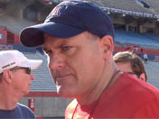 Rich Rodriguez after practice (Aug. 7)
