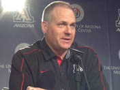 Rich Rodriguez - Aug. 10 (Fort Huachuca)