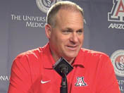 Rich Rodriguez introduces 2014 class