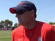 Fall camp: Rich Rodriguez (Aug. 19)