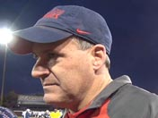 Rich Rodriguez after practice (Dec. 12)