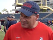 Fall camp: Rich Rodriguez (Aug. 20)