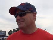 Rich Rodriguez after practice (April 3)