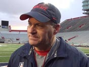 Rich Rodriguez after practice (Dec. 14)