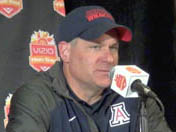 Fiesta Bowl: Rich Rodriguez after loss