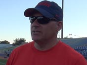 Rich Rodriguez after practice (March 23)