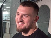 Scooby Wright after practice (Dec. 15)
