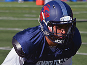 Jonathan Lockett at Semper Fi All-American Bowl