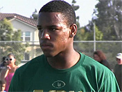 2015 cornerback Iman Marshall highlights