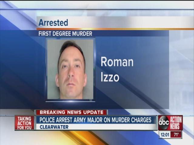 Army major arrested, accused in 2011 Clearwater murder [Video]