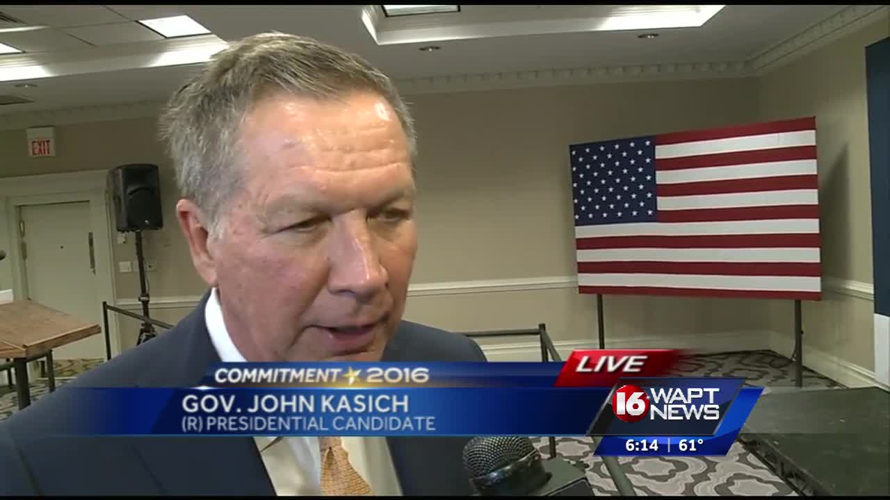 Kasich in Jackson on Super Tuesday