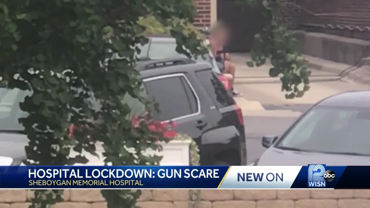 Man in custody after making threats with weapon outside Sheboygan hospital