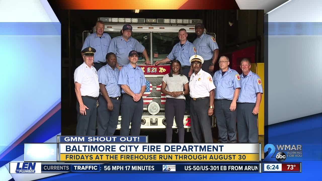 Good morning from the Baltimore City Fire Department!