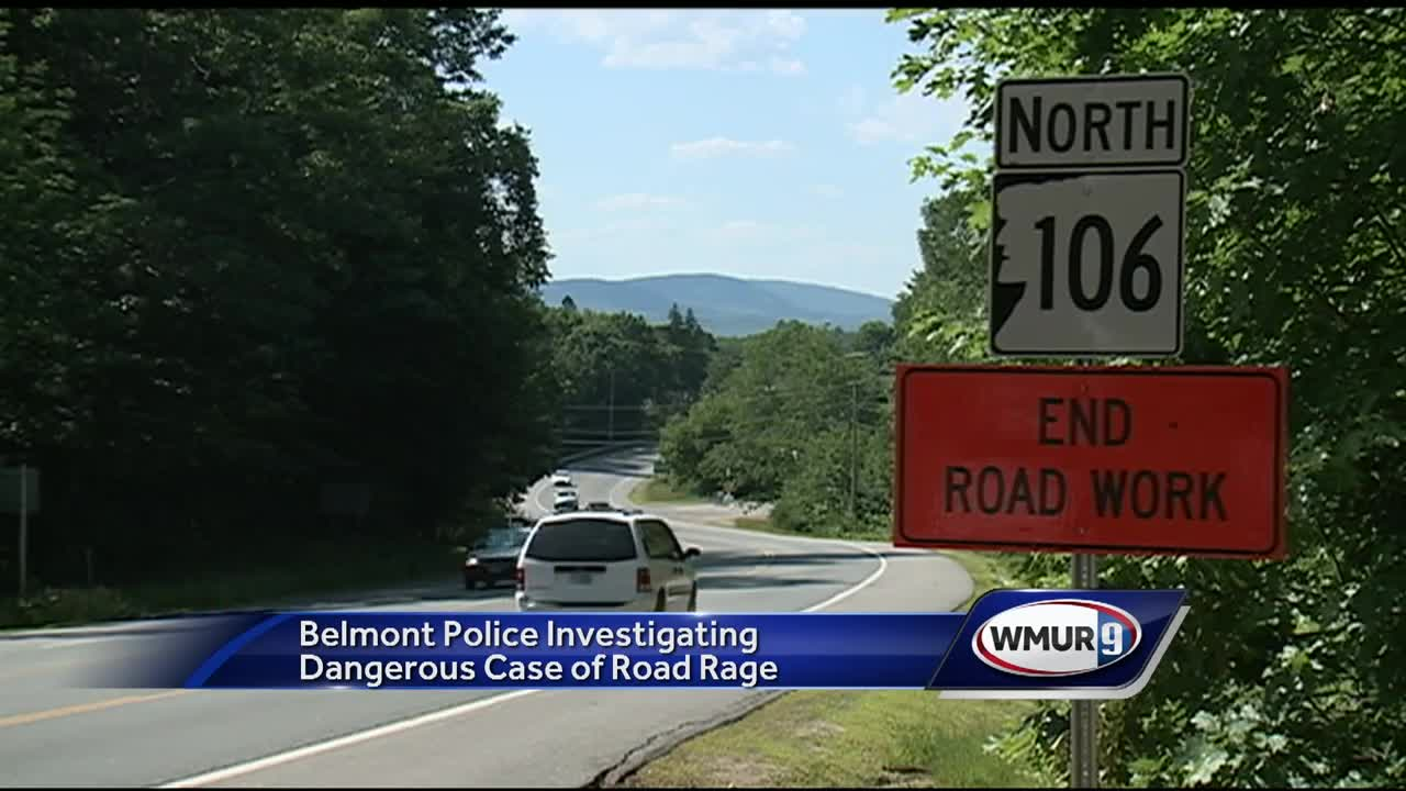Police investigate violent road rage incident in Belmont