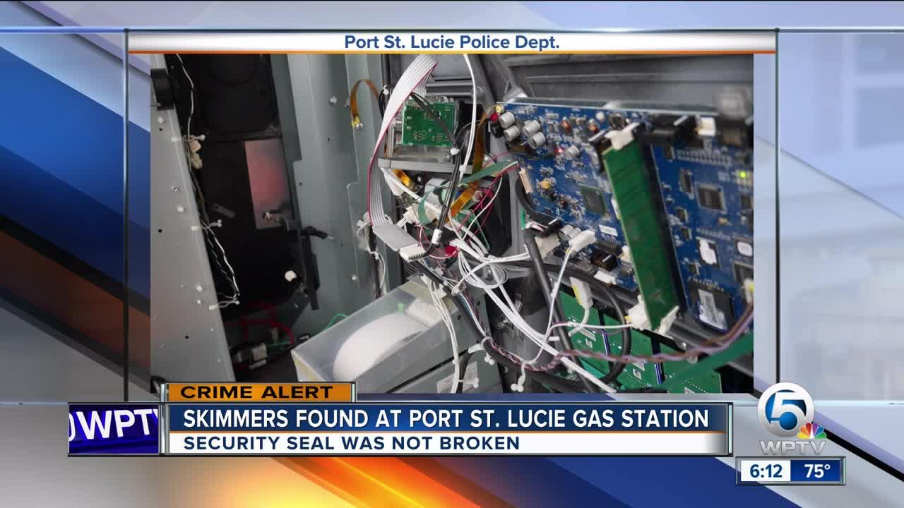 Skimmers found at Port St  Lucie gas station [Video]