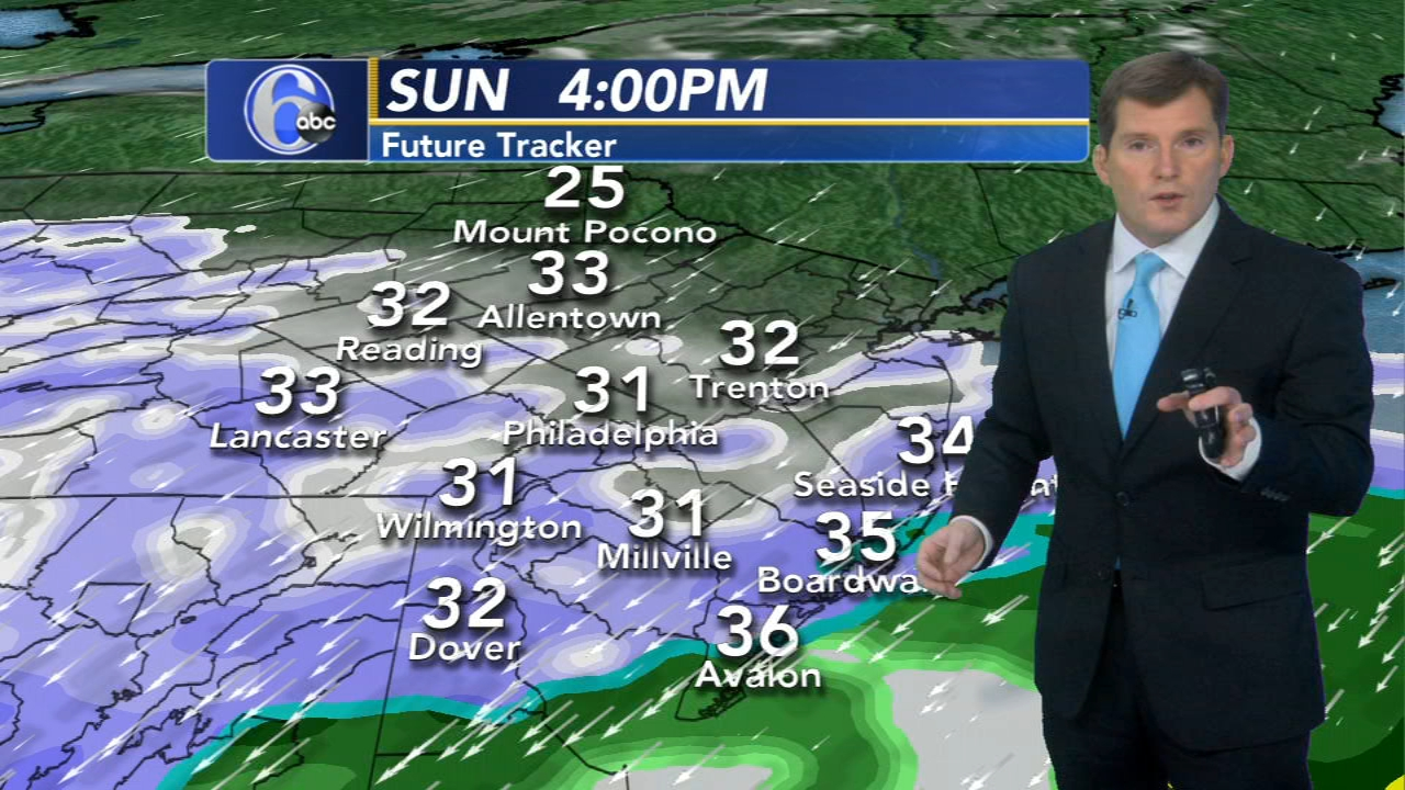 AccuWeather: Winter Storm Warning for parts of New Jersey and Delaware
