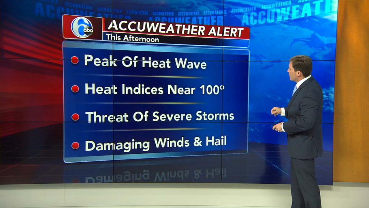 AccuWeather: Hot, Humidity Rising Today